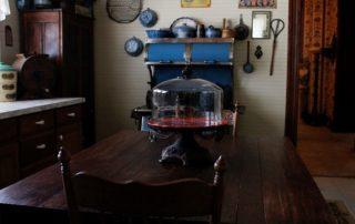 Nostalgia John Hill Matthews Bed and Breakfast Bowie Texas Kitchen